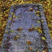 Robert Frosts Grave Art Print