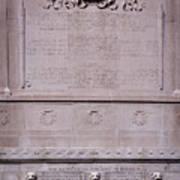 7- Robert Gould Shaw Monument - Back Side Eckfoto Boston Freedom Trail Art Print