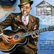 Robert Johnson Mississippi Delta Blues Art Print
