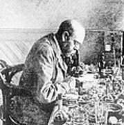Robert Koch, German Bacteriologist Art Print