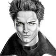 Robert Pattinson - Twilight's Edward Art Print