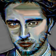 Robert Pattinson Art Print