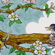 Robin Nest Art Print