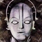 Robot From Metropolis Art Print