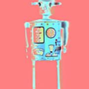 Robot 4 Art Print
