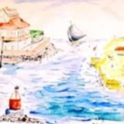 Robt E Lee Inn Jersey Shore Art Print