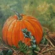 Rochester Pumpkin Art Print