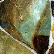 Rock Abstract 4 Art Print
