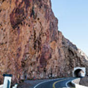 Rock And Road Art Print