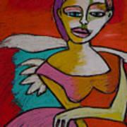 Rock And Roll Angel Art Print
