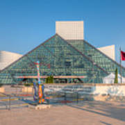 Rock And Roll Hall Of Fame I Art Print by Clarence Holmes