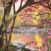Rock Creek Autumn Art Print