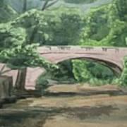 Rock Creek Bridge 5 Art Print