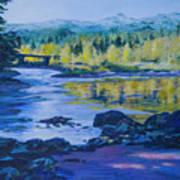 Rock Creek Fishing Hole Art Print