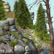 Rock Creek Art Print