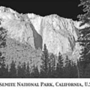Rock Formation Yosemite National Park California Art Print
