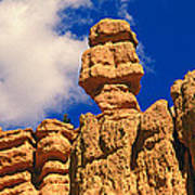 Rock Formations, Bryce National Park Art Print