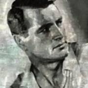 Rock Hudson Hollywood Actor Art Print
