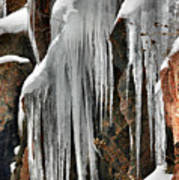 Rock Ice Art Print