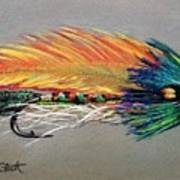 Rock Island Featherwing Streamer Art Print
