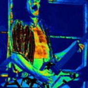Rock 'n' Roll The Cosmic Blues Art Print