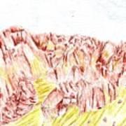 Rock Outcrop Art Print