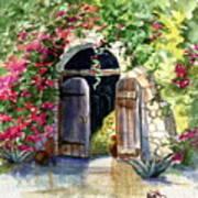 Rock Springs Gate Art Print