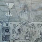 Rock Star Life Art Print