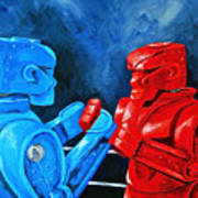 Rockem Sockem 2 The Rematch Art Print