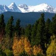 Rockies Mtn M 204 Art Print