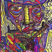 Rockin Chair Art Print by Robert Wolverton Jr