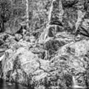 Rockin Water Art Print