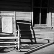 Rocking Chair Work A Art Print