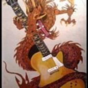 Rocking Dragon Art Print