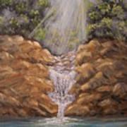 Rockledge Falls Art Print