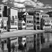 Rockport Coast In Ir Art Print