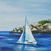 Rockport Sails Art Print