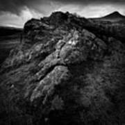 Rocks And Ben More Art Print