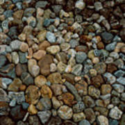 Rocks From Beaches Art Print