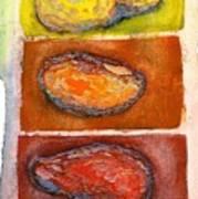 Rocks Number 3 Art Print