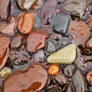 Rocks Of Lake Superior 12 Art Print