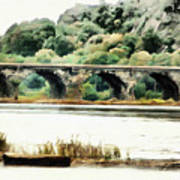Rockville Bridge On The Susquehanna River Art Print