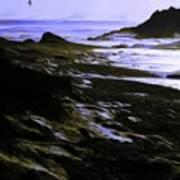 Rocky Beach Art Print