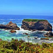 Rocky California Coast 006 Art Print