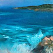 Rocky Cove Art Print