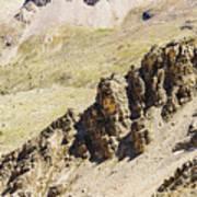 Rocky Landscape - 3 - French Alps Art Print