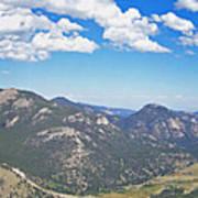 Rocky Mountain National Park Panoramic Art Print