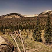 Rocky Mountain National Park Vintage Art Print