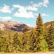 Rocky Mountain Panorama Art Print