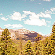 Rocky Mountain Panorama Too Art Print